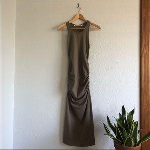 Michael Stars Racerback Sage Green Maxi Dress NWOT